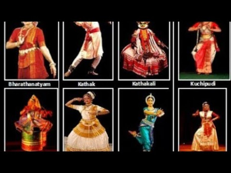 Different dance forms of India with their state names for
