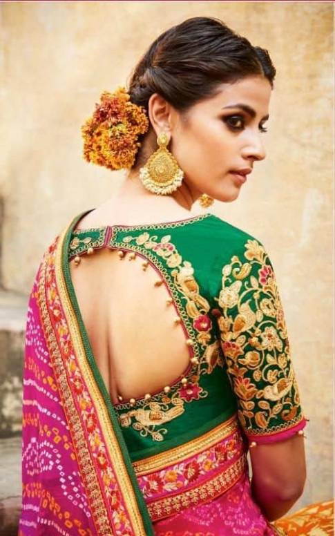 Different types of blouse for saree - Simple Craft Ideas
