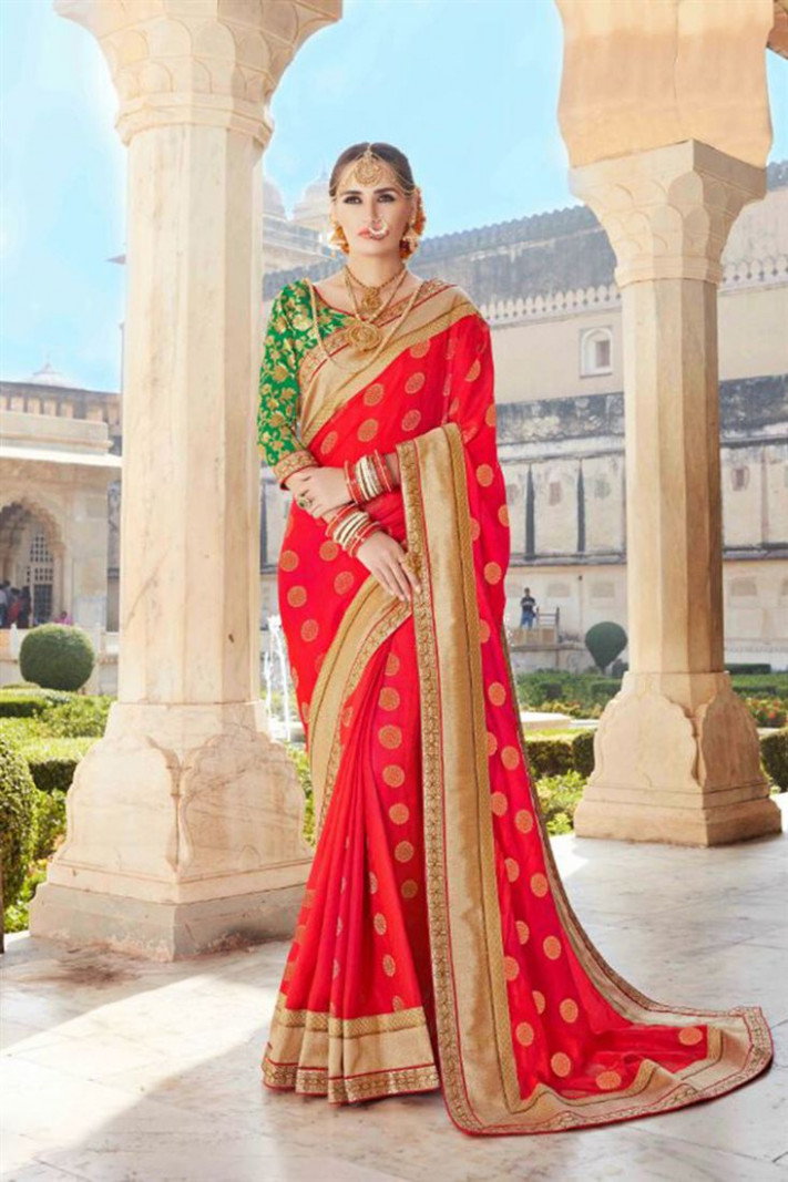 Embroidered Kashmiri Silk Fancy Fabric Blouse Traditional