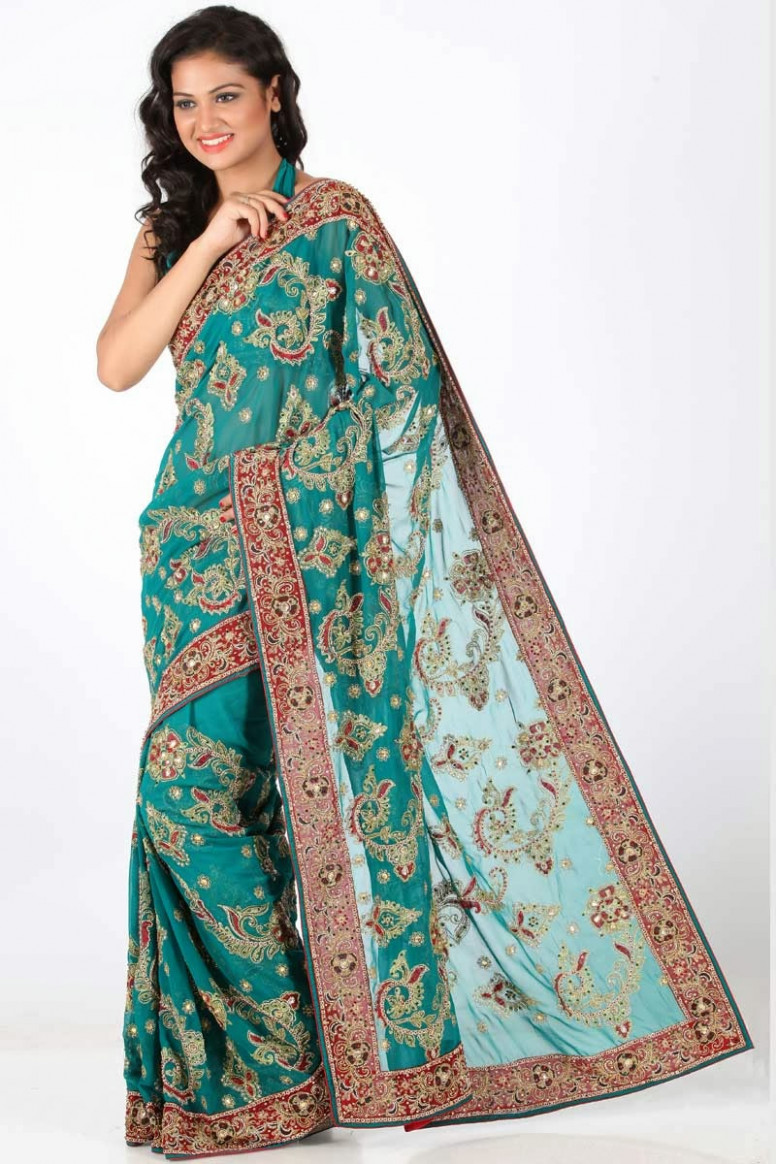 embroidery sarees online shopping  Stylish Indian Actress