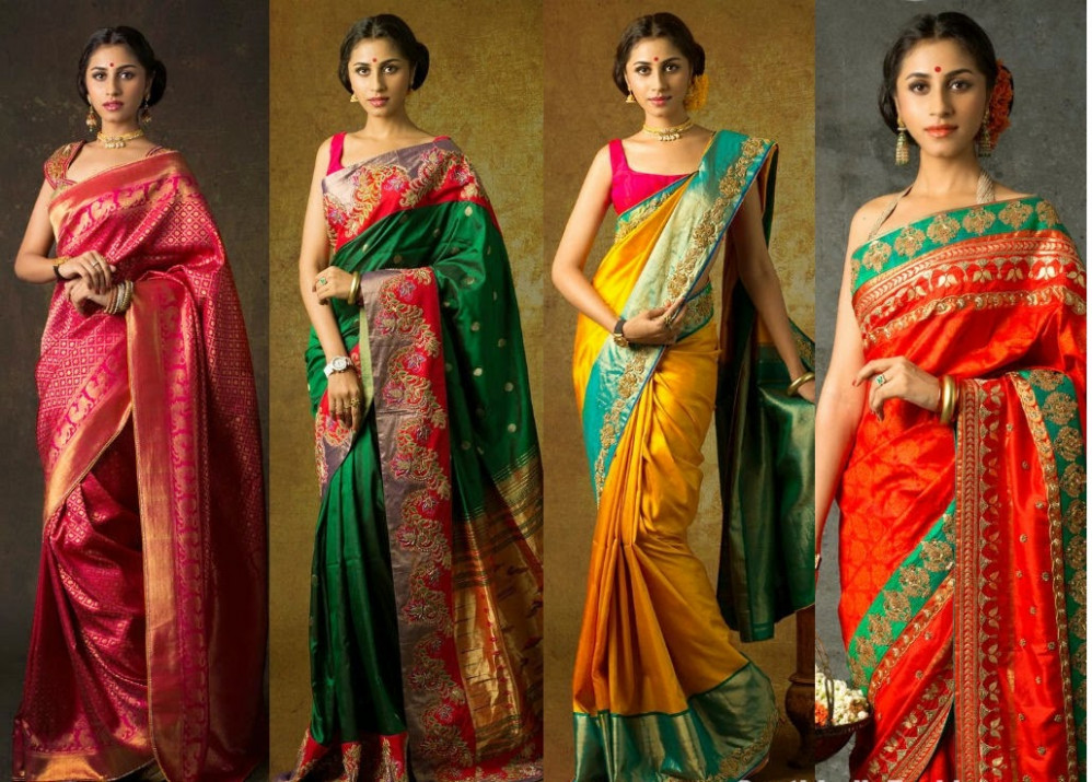Fashion for your home and you: Traditional Sarees