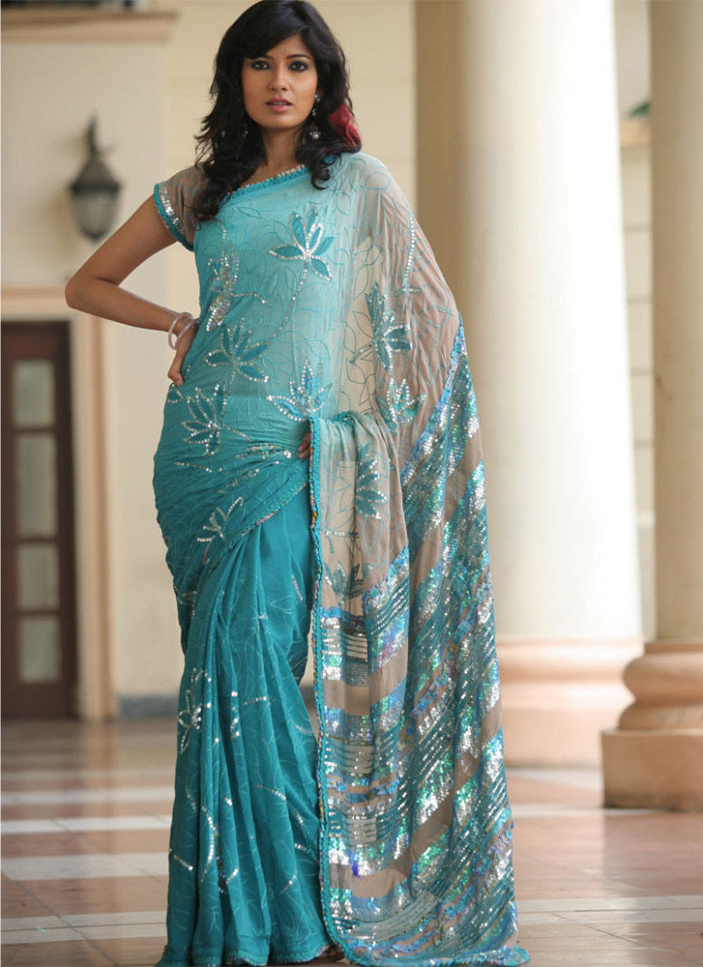 Fashion world latest Fashion: Saree fashion dresses.