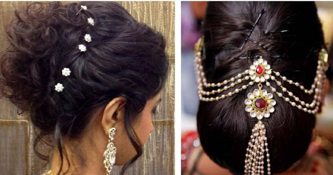 Festive Look Hairstyles For Sarees - Indian Beauty Tips