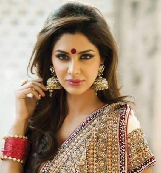 Flaunting Trendy Hairstyle with Sarees - Indian Beauty Tips