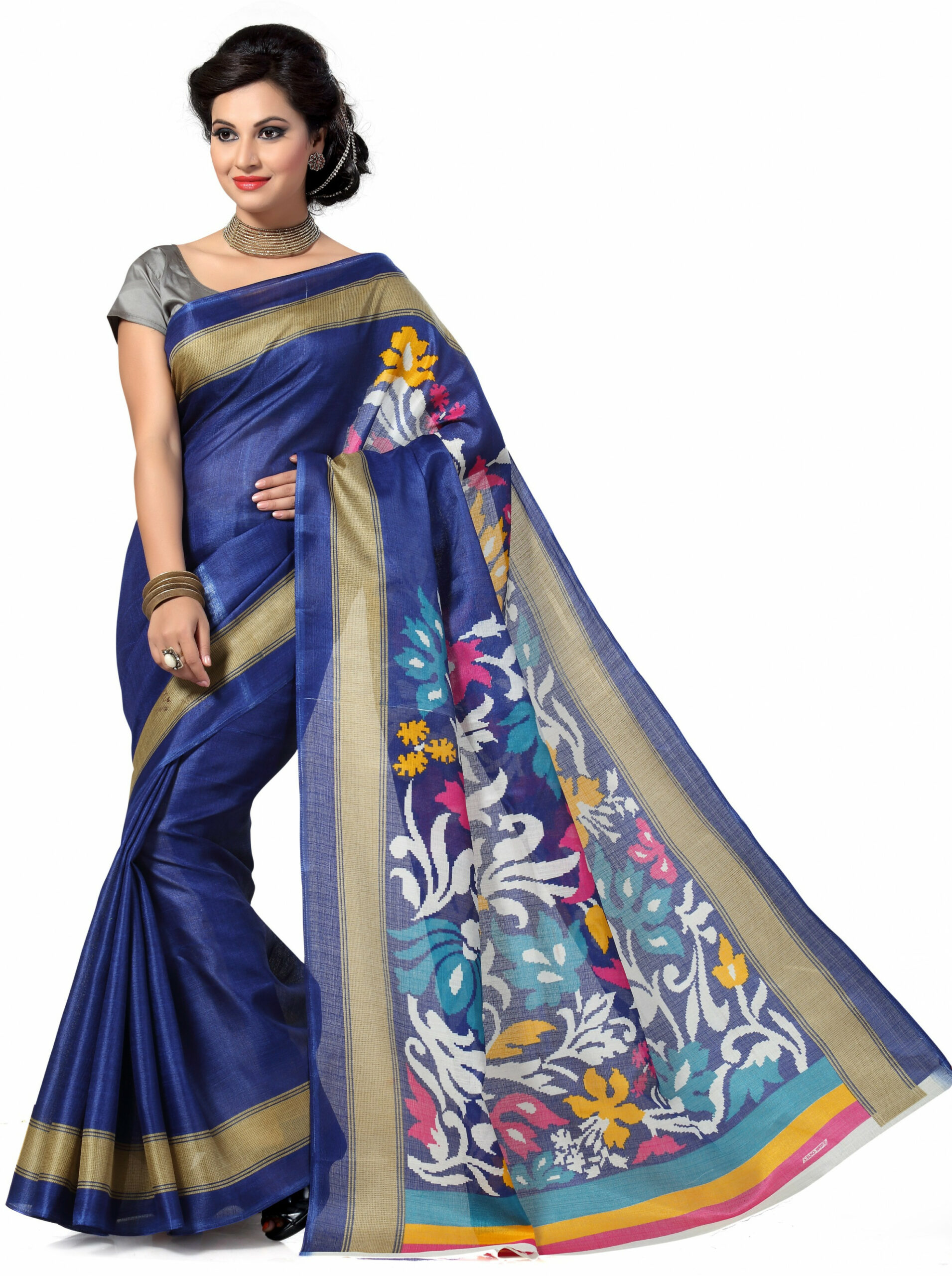 Flipkart - Georgette & Fashion Silk Sarees Below Rs.499
