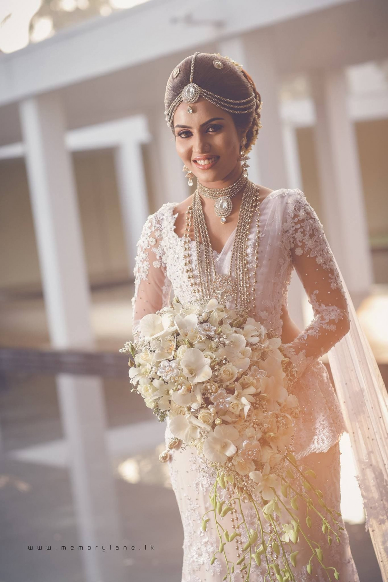 For the bride who wants to wear white!! That reduces the