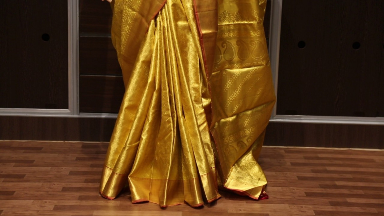 Full gold wedding saree - VBL4F3A9243 from kanjivaramsilks