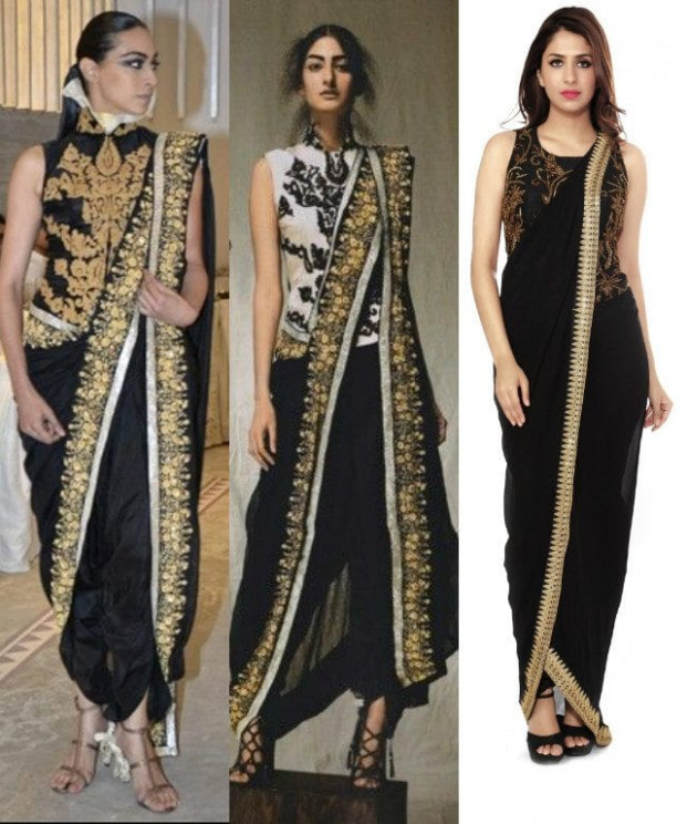 Glamorous Ways to Wear Pant Style Sarees To Look Like a