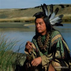 Graham Greene (Kicking Bird) in Dances with Wolves  The