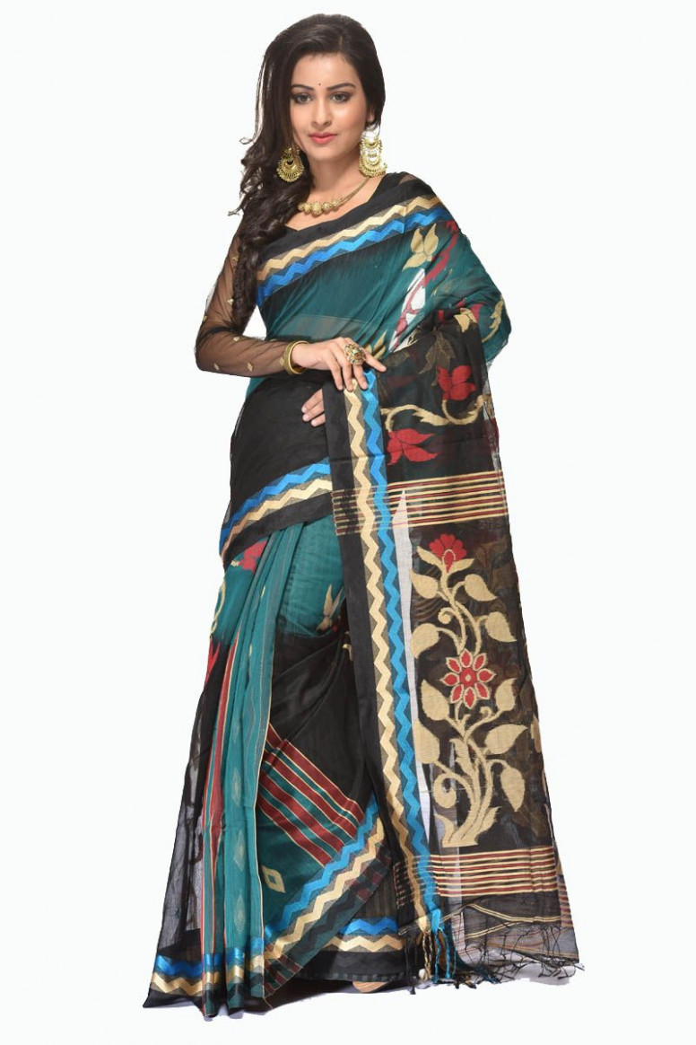 Handloom Cotton Saree (adi30440)