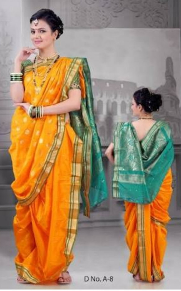 Have you worn a nauvari saree? - Quora