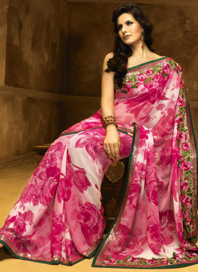 HD Bollywood Sarees Trend - Famous Celebs Fashion Trends
