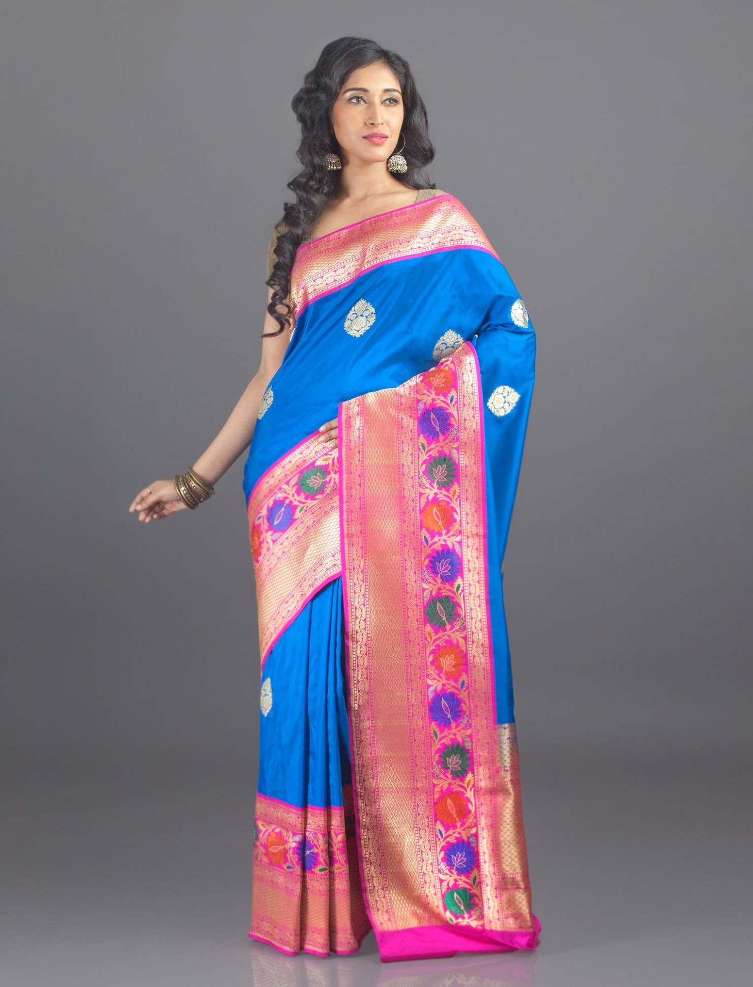 Heena Traditional Banarasi Katan Silk Saree - All Sarees