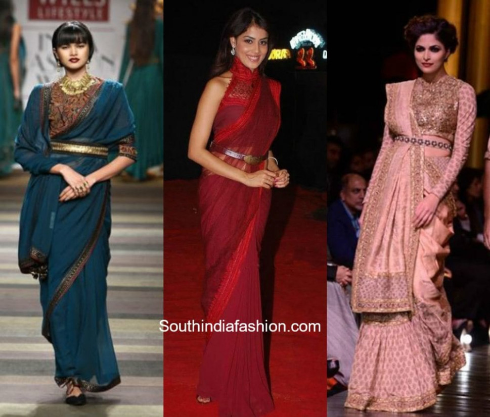 HOT TREND: Belt It Up! – South India Fashion