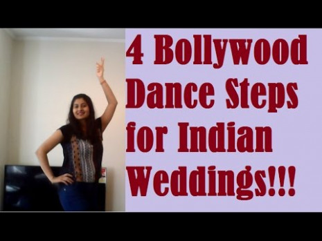 How to dance in Indian Weddings Dance Tutorial