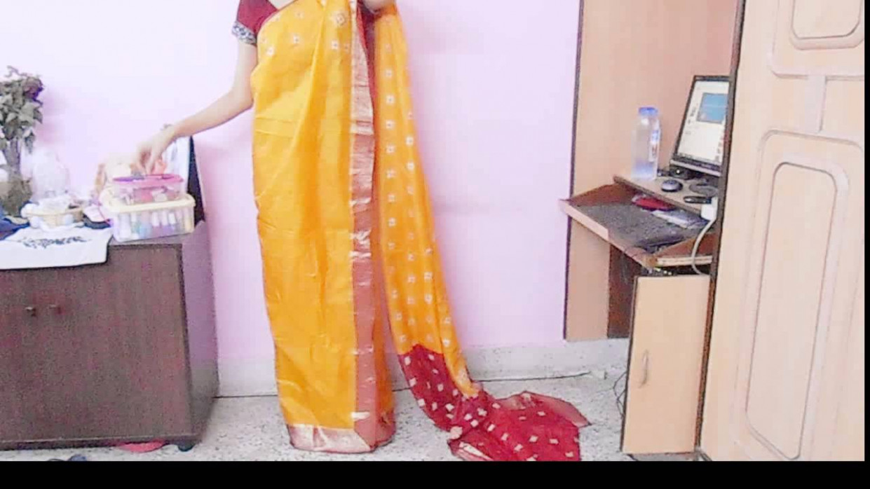 How To Drape Bengali Style Saree-Wear Bengoli Saree/Tie