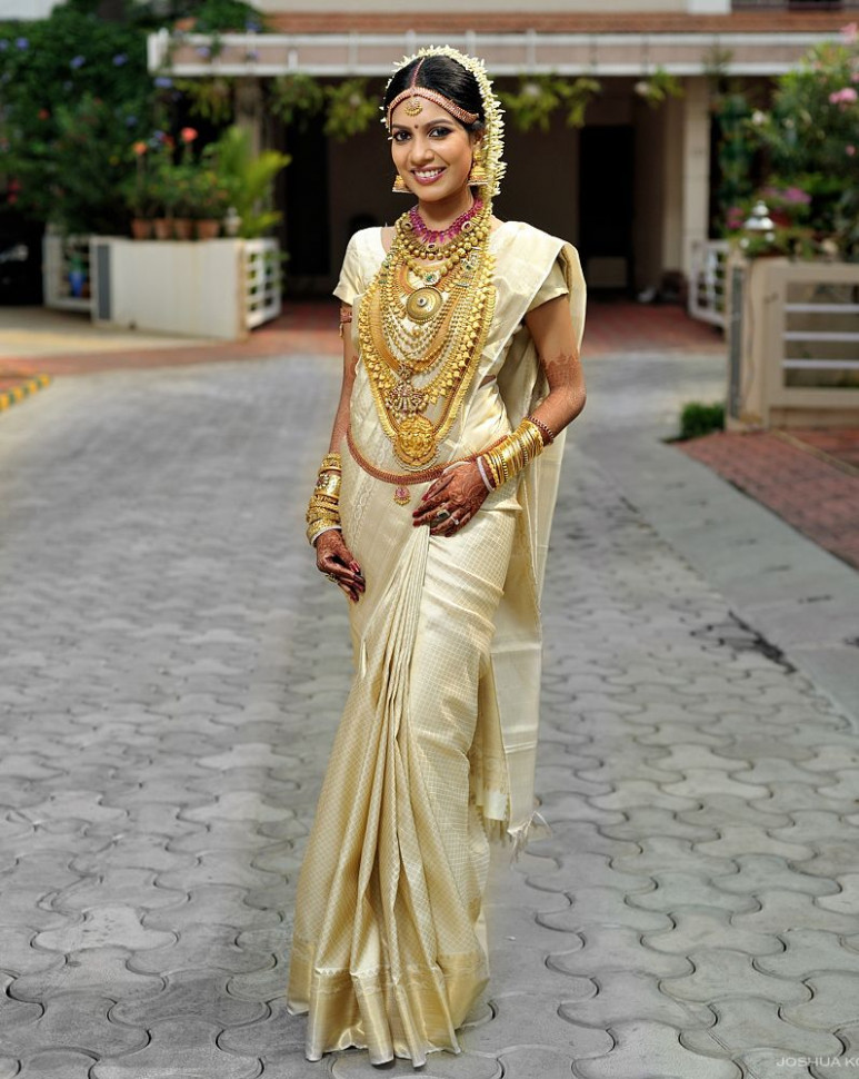How To Look Like A Beautiful South Indian Bride?  Kerala