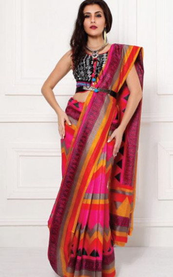 How to Make Saree Pallu Pleats  Saree Guide