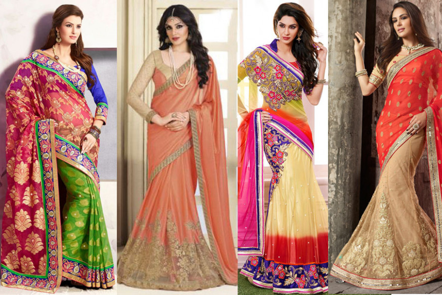 How to Wear a Saree in 20 Different Ways - FashionPro