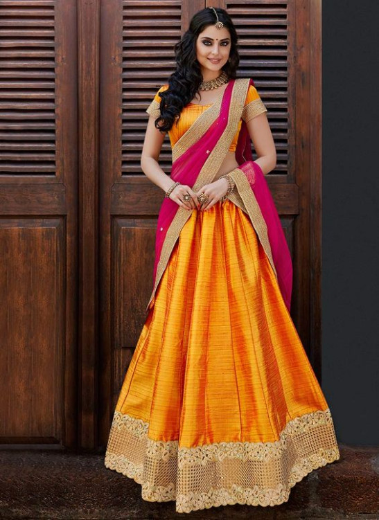 How to Wear Half Saree in South Indian Style?  Saree Guide