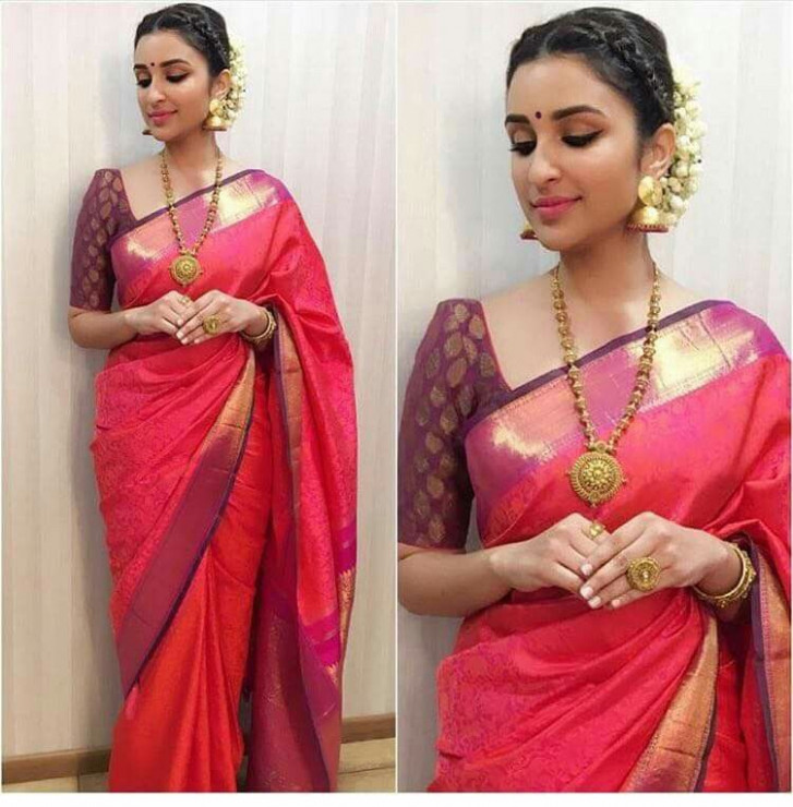 How to Wear Saree for Plus Size – 20 Ideas for Curvy Ladies