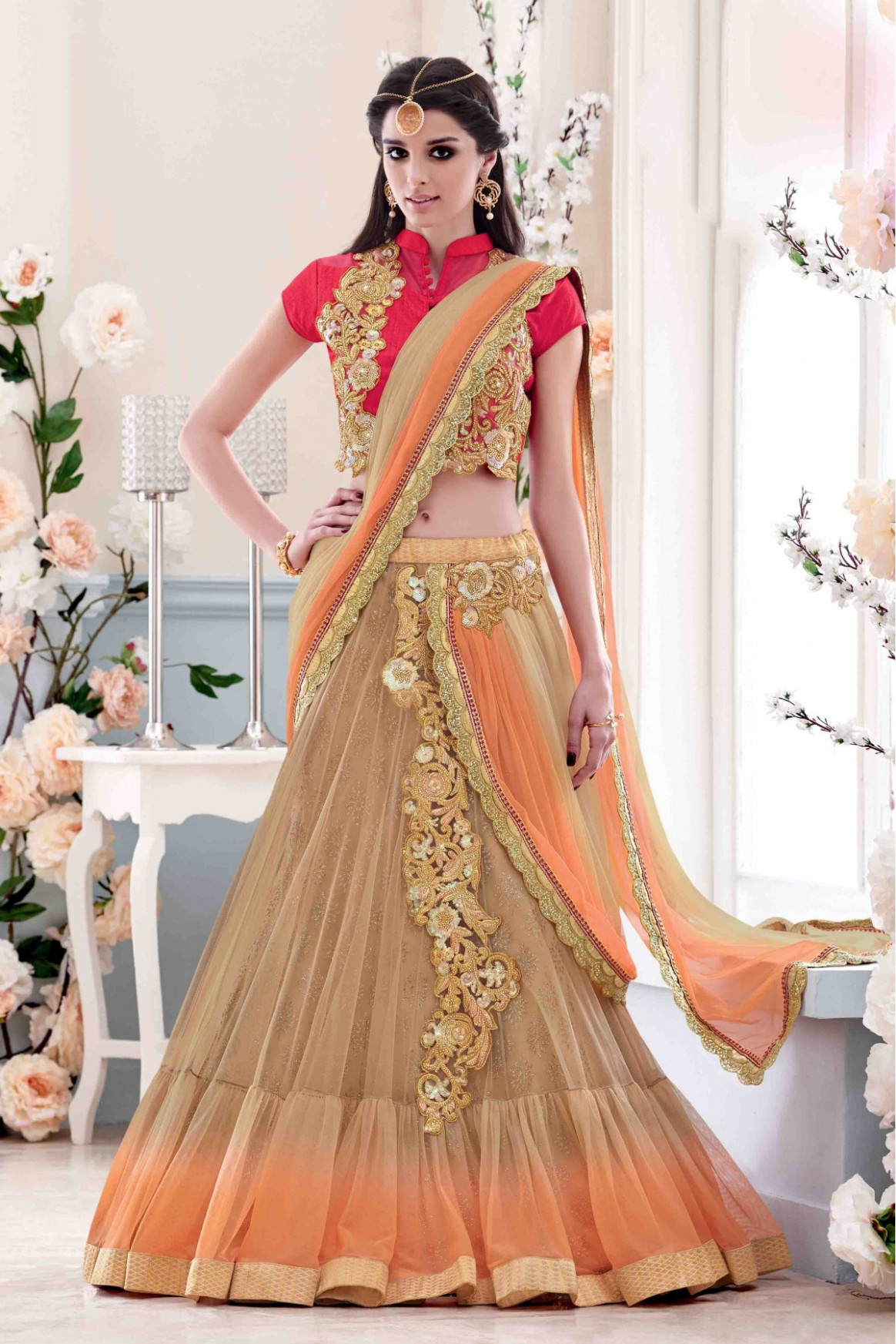 How To Wear Saree in Lehenga Style  Saree Guide