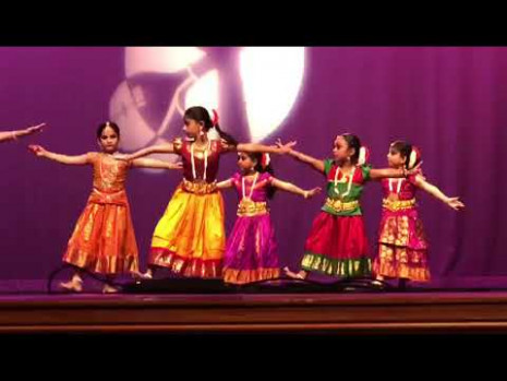 Indian Classical Dance by Kids - YouTube