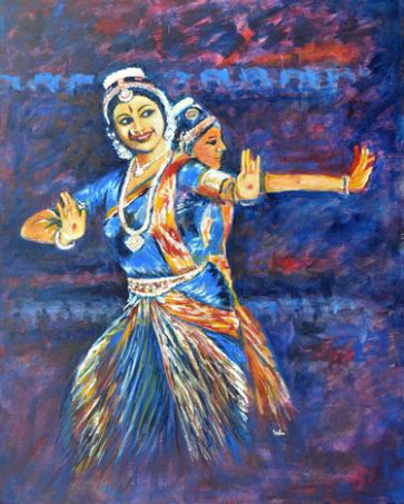 Indian Dance Paintings For Sale  Saatchi Art