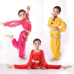 Indian Dress for Children Kids Belly Dance Costumes