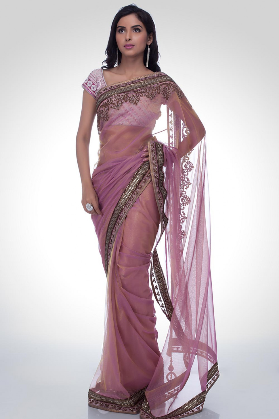 Indian Embroidered Sarees  New Saree Trends  Satya Paul