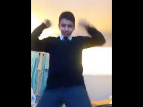 Indian Kid Dances To Disco Music! (Disco Time) - YouTube