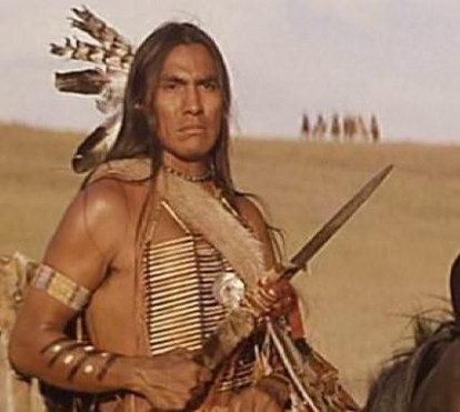 """Indian Name - """"Wind In His Hair"""" Actor Rodney Grant from"""