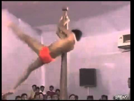 Indian pole dancing - YouTube