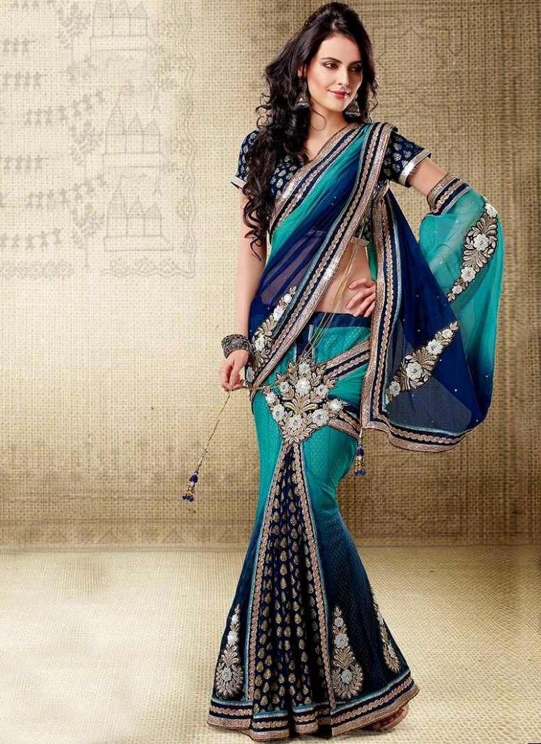 Indian Readymade Saree Designs  Stylish Saree style For