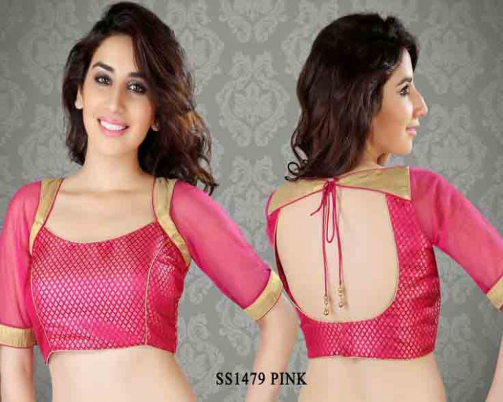 Indian Saree Blouse Designs In 2020 For Front And Back