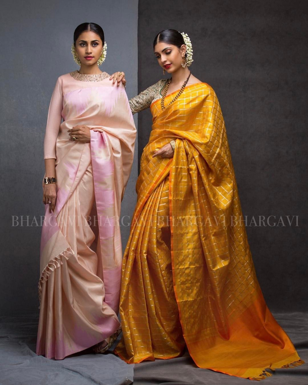 Indian Saree Fashion: Beautiful Sarees by Bhargavi Kunam