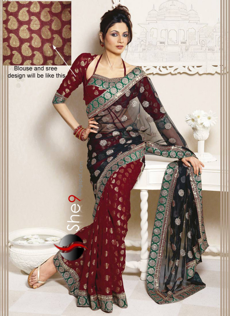 Indian Saree Trend for Parties  Party Wear Saree FasHioN