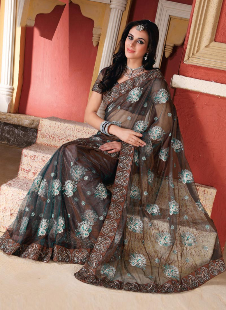 Indian Sarees 2012  New Trend of Indian Sarees  Sarees