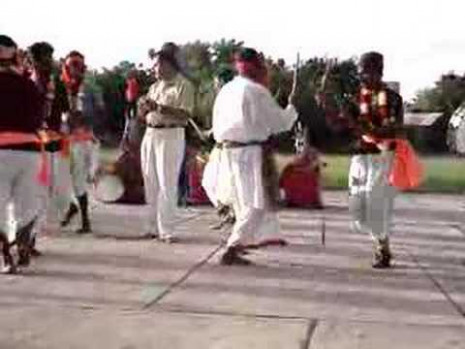 Indian Stick Dance - YouTube