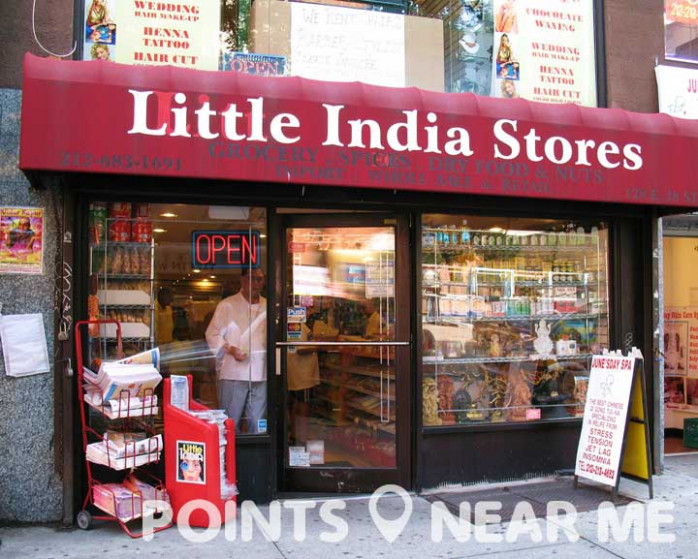 INDIAN STORE NEAR ME - Points Near Me