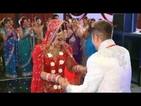 Indian wedding dance of Bride and Groom compilation 2017