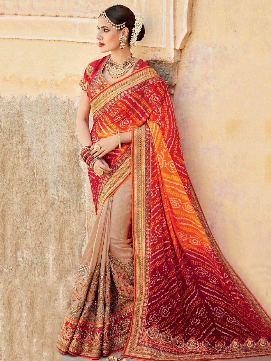 Indian Wedding Saree Latest Designs & Trends 2020-2021  - indian wedding saree
