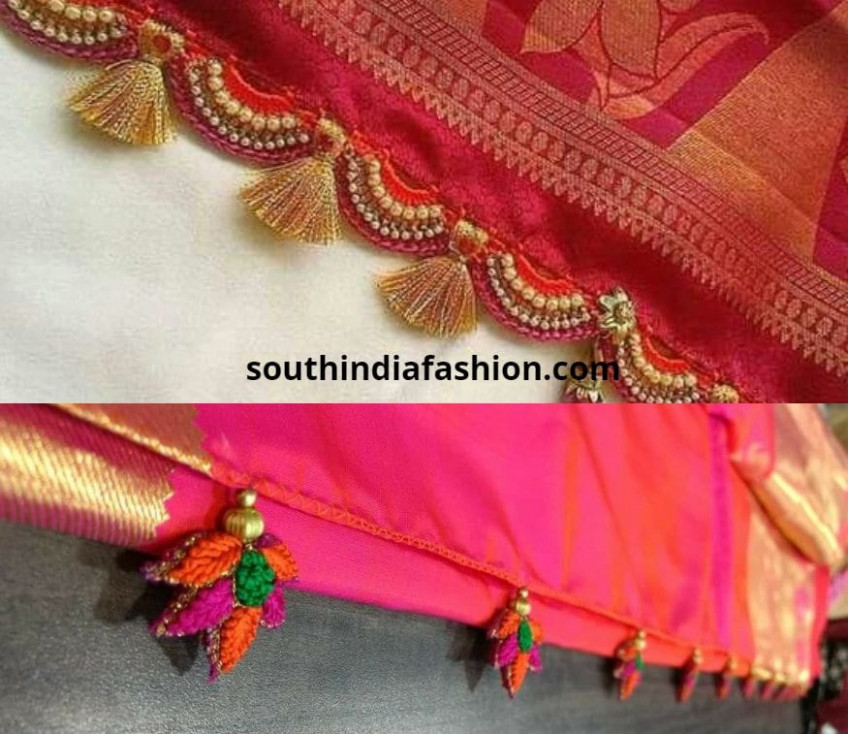 Interesting Saree Tassels- Have You Done This Yet??