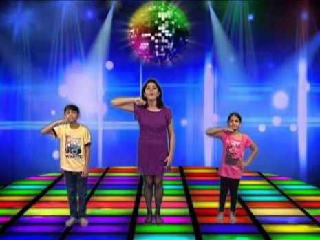Its the time to disco - Bollywood Dance Steps For Kids Get