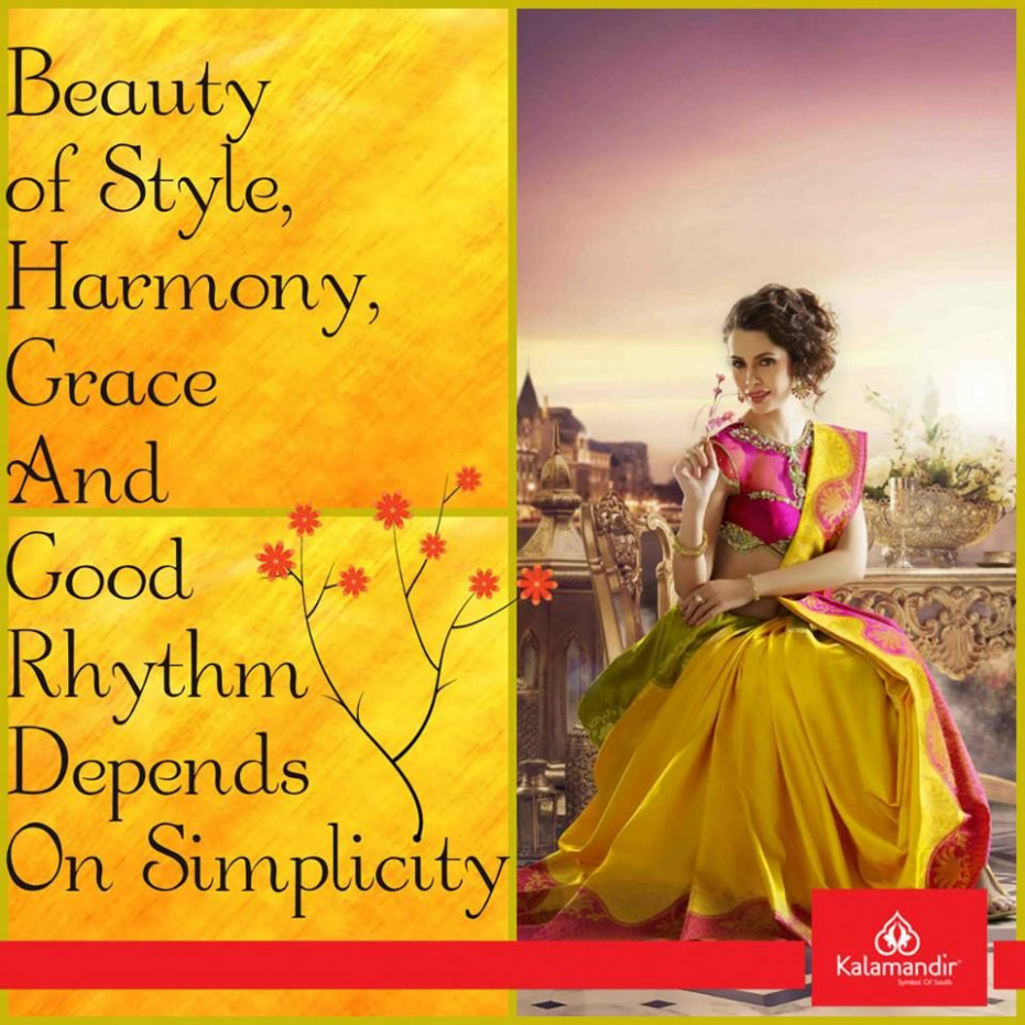 #Kalamandir #Sarees  How to feel beautiful, How are you