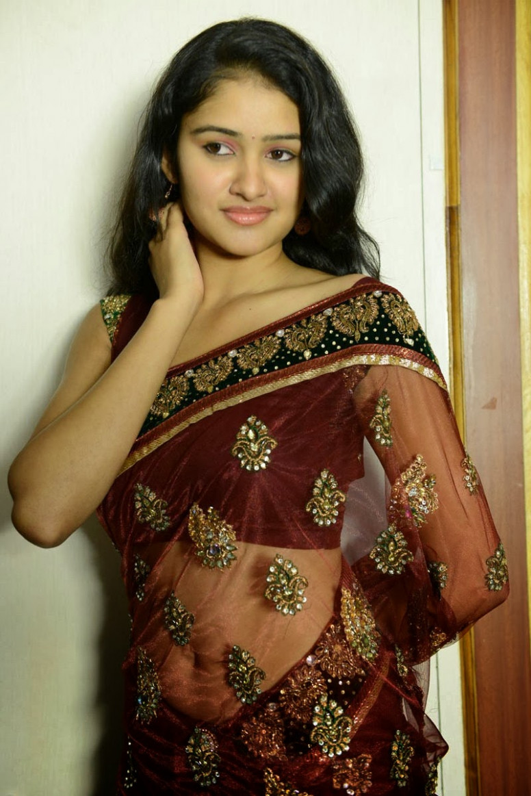 Kausalya Hot Navel Show Stills in Saree - Hot Blog Photos