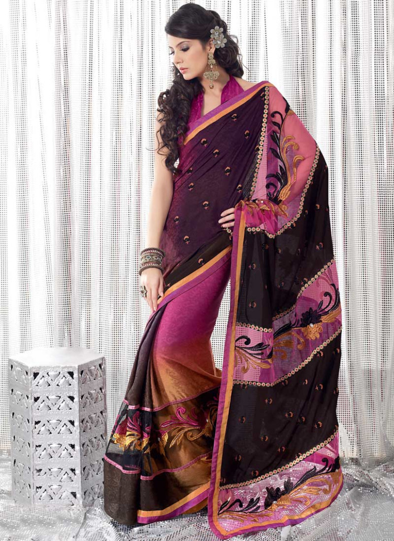 Kewtified: Saree Fashion 2012 latest collection