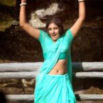 Kollywood Actress Monica Wet Saree Stills  Indian Actress