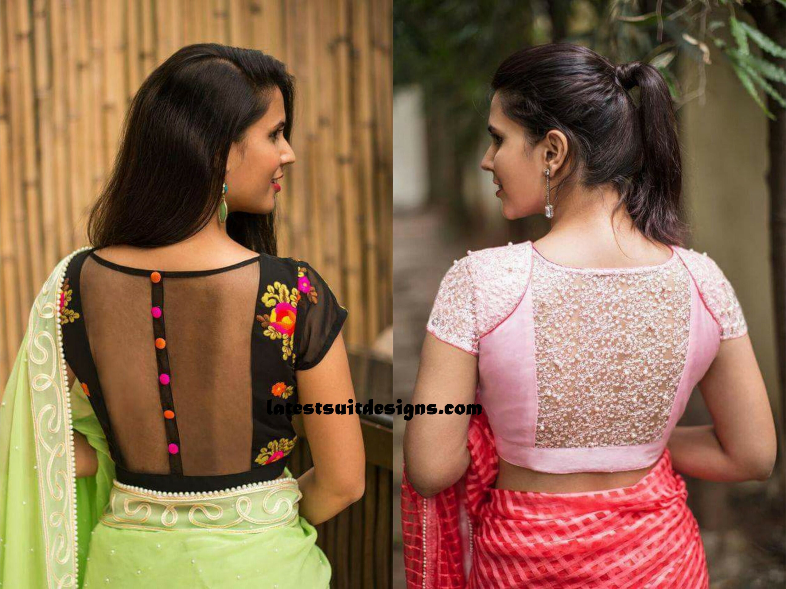 Latest Blouse Designs 2019 For Girls  Blouse designs