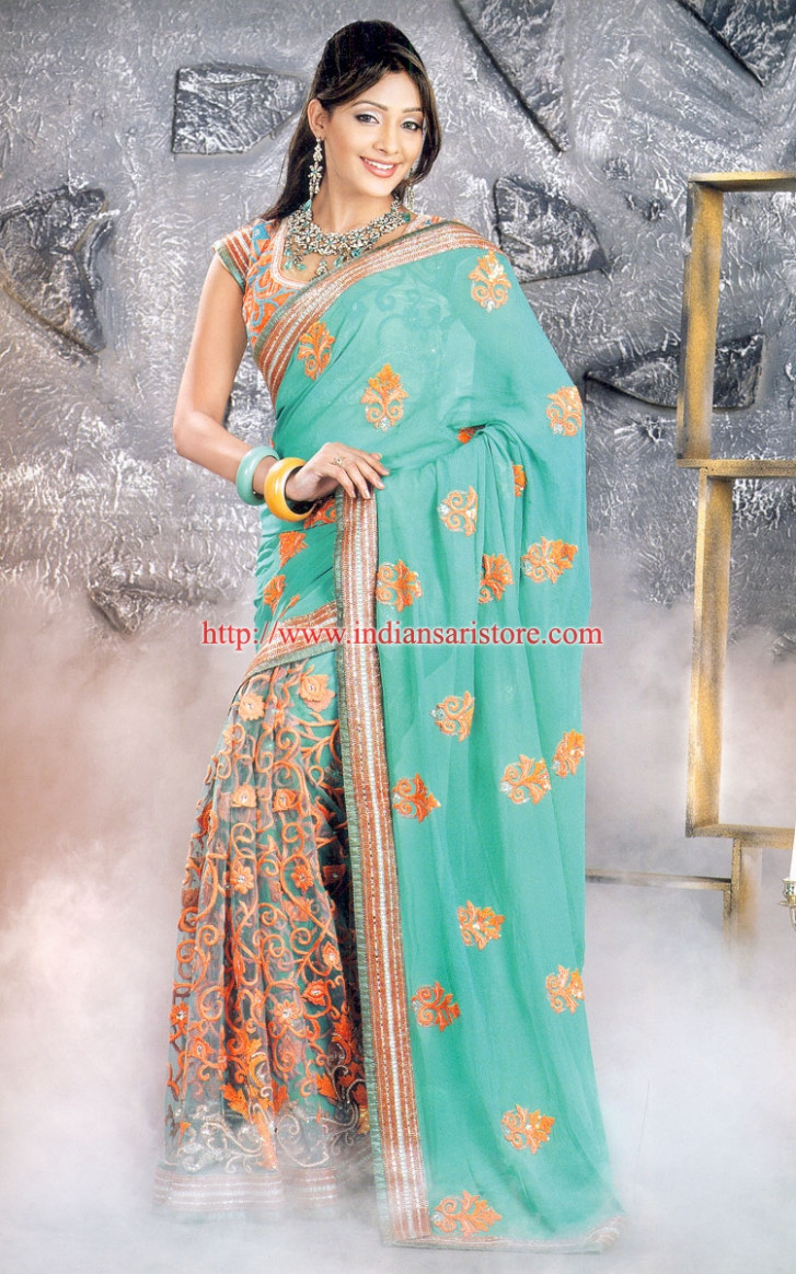 Latest Fancy Saree - Celebrity Fashion: Latest Fancy Saree
